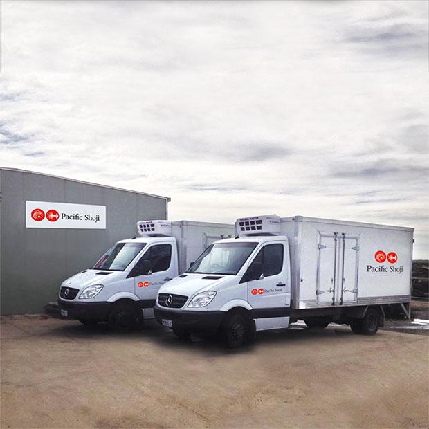Pacific Bao Yu refrigerated vehicles